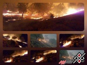 آتش سوزی باینگان