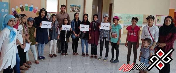 کودکان کانون پرورش فکری نوسود از خبرنگاران سلام پاوه تقدیر کردند/عکس