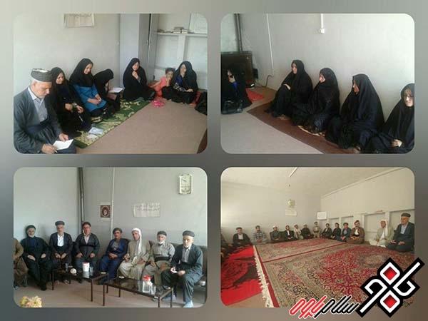 نشستبصیرت زایی طلاب و روحانیون مدرسه علوم دینی امام محمد غزالی پاوه برگزار شد
