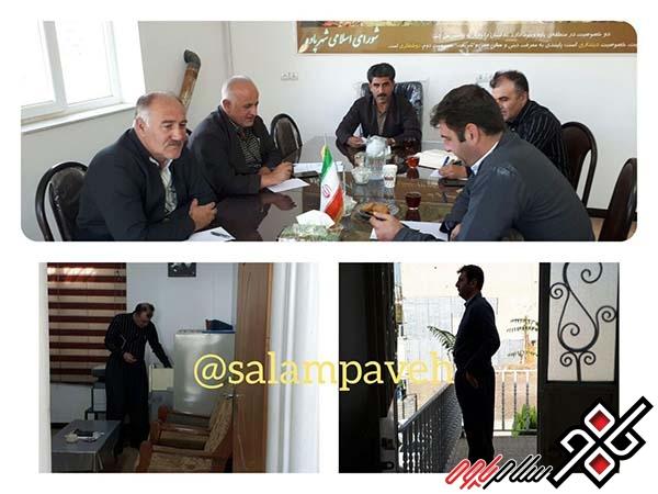 شهردار پاوه با ۳ رای انتخاب شد/احمدی و مرادی به نشانه اعتراض جلسه را ترک کردند