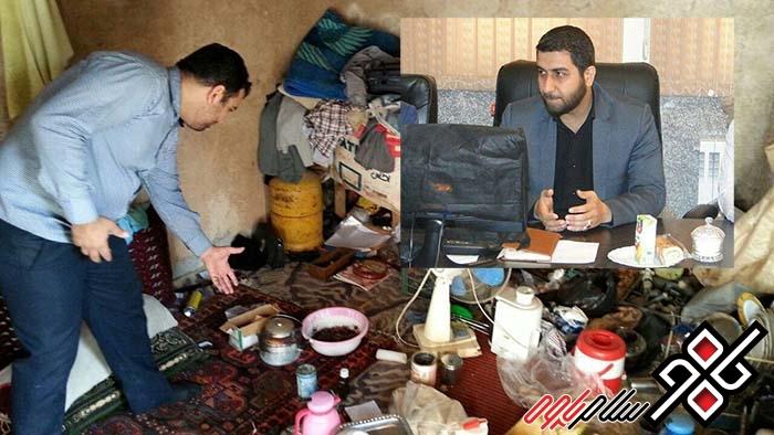 تخلیه و پلمپ یک باب منزل مسکونی و دستگیری ۲ نفر خرده فروش مواد مخدر در پاوه