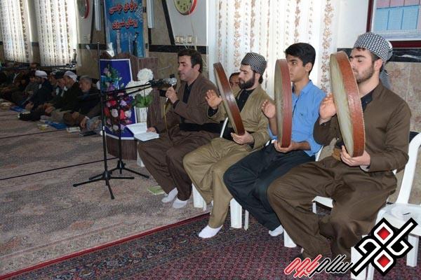 گزارش تصویری از جشن میلاد پیامبر اکرم در روستای نروی