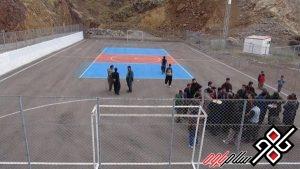 افتتاح سالن ورزشی نوسود