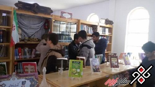 طرح آشتی مدارس و دانشآموزان با کتابخانه عمومی وحدت پاوه