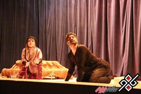 نمایش خیال در آمفی تئاتر پاوه به روی صحنه رفت /گزارش تصویری