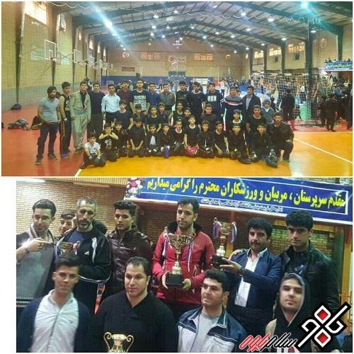 نایب قهرمانی کونگ فو کاران شهرستان پاوه در مسابقات قهرمانی استان کرمانشاه