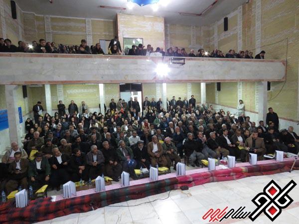 مراسم بزرگداشت میرزا سعدالله خدیری هجیجی در پاوه برگزار شد/گزارش تصویری