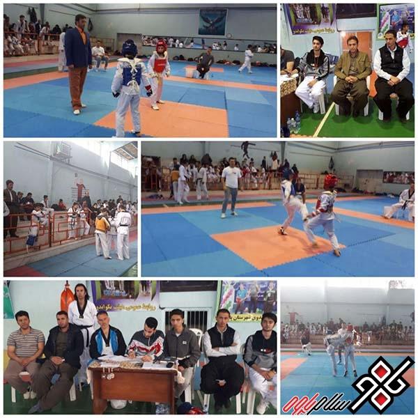 مسابقات تکواندو در شهرستان پاوه به مناسبت دهه فجر برگزار شد/ عکس