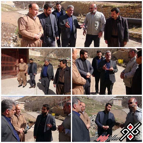 فرماندارپاوه:میزان پیشرفت طرح انتقال آب چشمه هانی کوان به پاوه کافی نیست