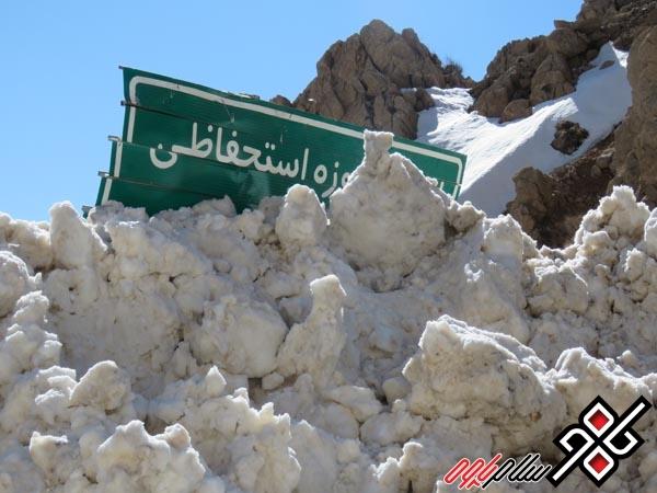 بازگشایی گردنه ته ته در حوزه استحفاظی راهداری پاوه / گزارش تصویری از تلاش راهداران پرتلاش