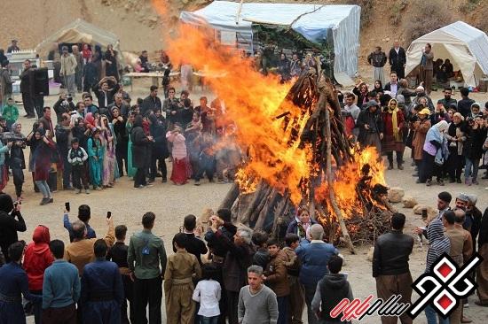 آئین استقبال از بهار در منطقه گردشگری دیرینیان ساتیار برگزار شد