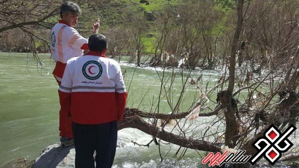 نجات دو نفر از غرق شدن در پاوه