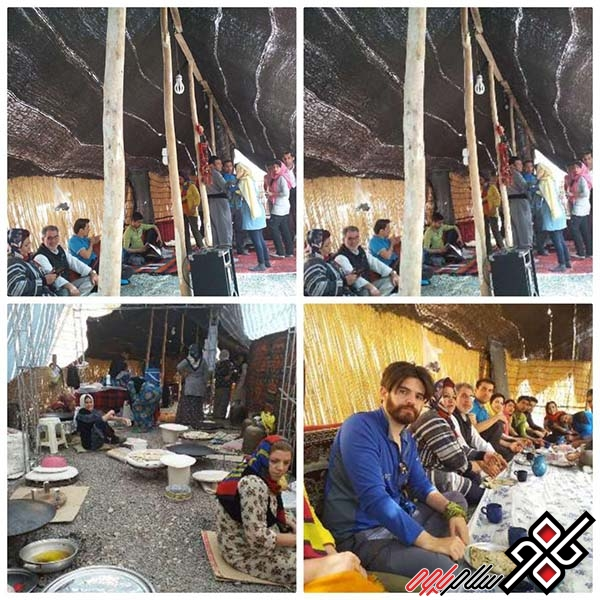 سیاه چادر باینگان میزبان گردشگران نوروز است