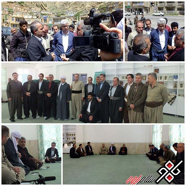 با حضور فرماندار مشکلات روستای هجیج پاوه بررسی شد