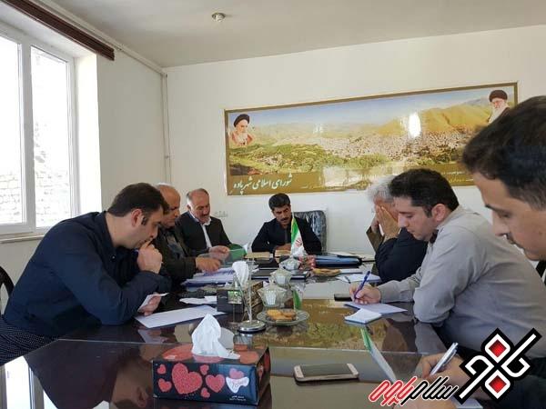 نشست خبری شورای شهر پاوه برگزار شد/ تشریح فعالیتهای ۸ ماهه این شورا