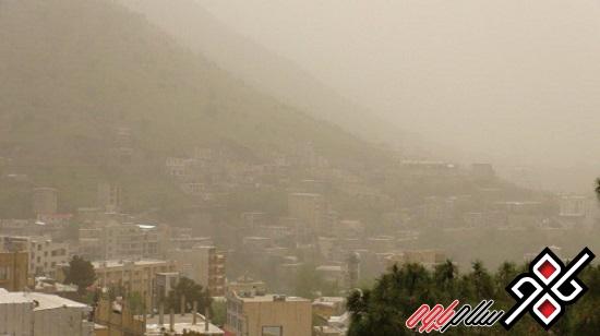 هوای شهرستانهای پاوه و سرپل ذهاب بحرانی است/عکس