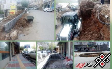 شهردار پاوه پروژههای عمرانی در حال اجرا شهرداری را تشریح کرد/ عکس