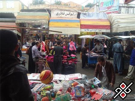 """اکثر کالاهای بازارچه جوانرود کرمانشاه""""تولید داخل""""با """"برچسب خارجی""""است"""