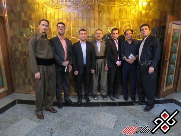 استاندار کرمانشاه از خبرنگاران تجلیل کرد/عکس