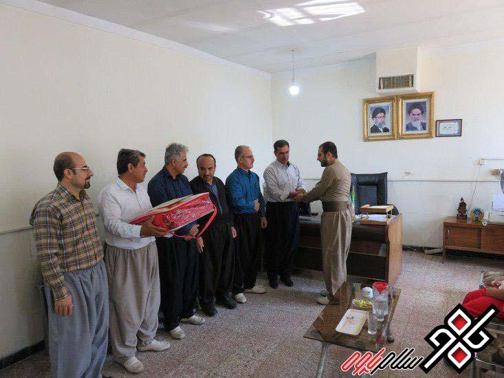 از فرهنگیان برتر کشوری منطقه نوسود تجلیل شد/ عکس